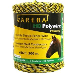 Electric Conductor Strand Polywire 200 M Industrial Livestock Supplies Fencing