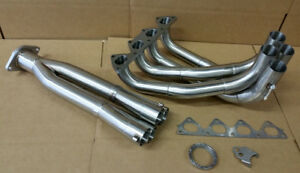 Sale Plm Tri Y Big Tube Exhaust Header Integra Civic Si Dohc B18c B16a B20b Gsr