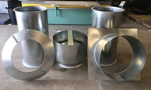 24 Dia Vertical Spray Paint Booth Exhaust Package