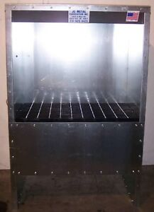 8ft Bench Downdraft Spray Paint Booth