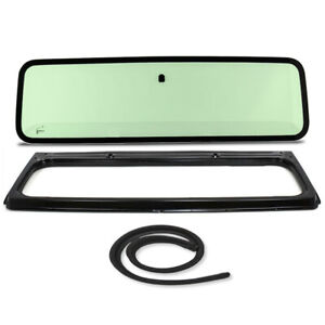 New Green Windshield Glass With Frame Cowl Seal For Jeep Wrangler Yj 1987 1995