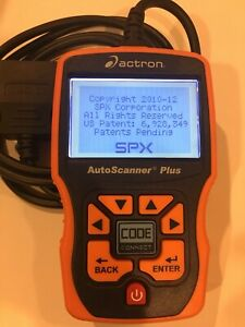 Actron Auto Scanner Plus