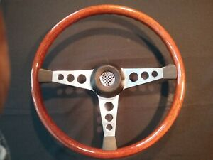 Refurbished 15 Formula Gt Speedwell Wood Steering Wheel Adaptor Mgb 1968 69