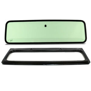 New Green Tinted Windshield Glass With Frame For Jeep Wrangler Yj 1987 1995
