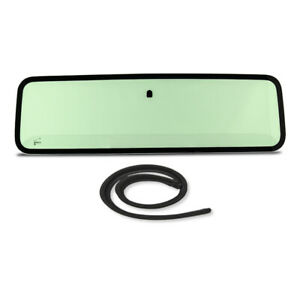 New Green Tinted Windshield Glass With Cowl Seal For Jeep Wrangler Yj 1987 1995
