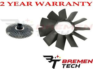 Fan Blade Fan Clutch Kit For Bmw E36 E46 E53 E34 E32 E39 323i 325i X5 Z3 528i