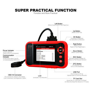Launch Crp123 Obd2 Mode 6 Professional Creader Engine Scan Tool
