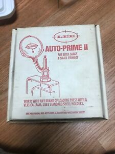 Lee Auto Prime 2 Shell Reloading Priming  Tool Set # 90107 in Box