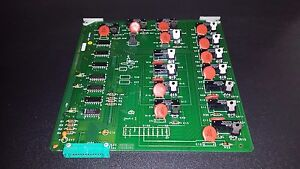 Gilbarco Gas Pump Parts Relay Circuit Board Mpd c Mpd 2 T14781 g2r