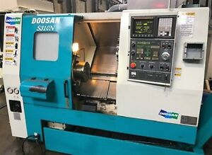 2004 Doosan S 310n Cnc Turning Center Fanuc 0i Cnc 10 Chuck