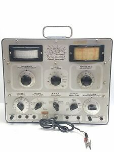 Vintage Hickok Model 288x Crystal Controlled Signal Generator