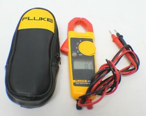 Fluke 323 True Rms Digital Clamp Meter With Leads In Case