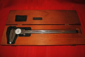 Starret No 120 Calipers In Wood Box