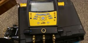 Fieldpiece Sman3 Digital Refrigerant Manifold No Hoses Only One Clamp Wire