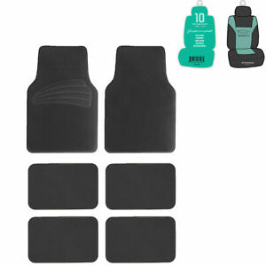 Suv Floor Mats For Auto 6pc Carpet Universal Fit Heavy Duty 3 Colors W Gift