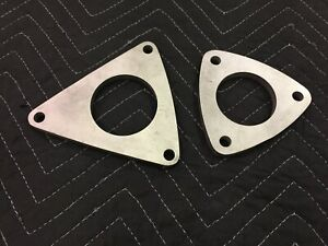 Ls1 F body Stainless Exhaust Collector Flanges Pair Camaro firebird 98 02