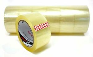 Clear Heavy Duty Strength Packing Tape 1 89 X 90 Yard Rolls 36 Pack