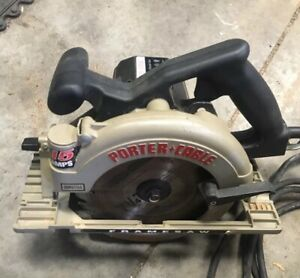 Left Hand Porter cable 743 7 1 4 Heavy Duty 15a Circular Saw Framing Contractor