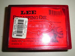 Lee 90292 Decapping Die in Red Plastic Case