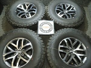 2018 F150 Raptor Svt 17 Factory Oe Wheels Lt315 70r17 Bfg Tires 2004 2019 C54