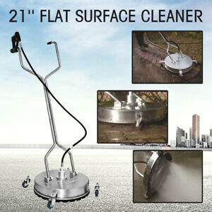 21 4000psi Concrete Or Flat Surface Cleaner For Pressure Washer Greasable