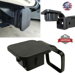 2 Trailer Hitch Receiver Plug Cover Cap Dust Protector Truck For Gmc Jeep Ford