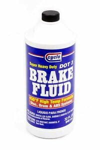 Cyclo Dot 3 Brake Fluid 32 00 Oz Each P N C56