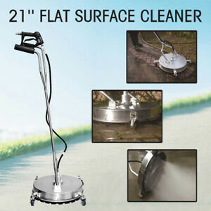 Stainless Steel 21 4000psi Flat Surface Concrete Cleaner