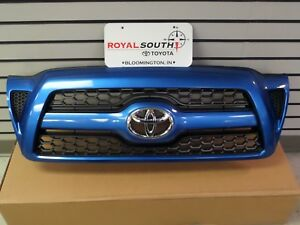Toyota Tacoma X runner Speedway Blue 8p1 Honeycomb Grille Genuine Oem Oe
