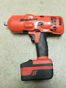 Snap On Lithium Ion Monster Impact Wrench Ct8850 18 Volt W Battery Ctb8185