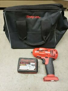 Snap on Ct8810b 3 8 18 Volt Monster Lithium Cordless Impact Wrench W Battery