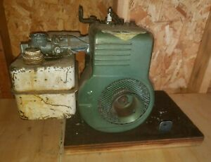Antique Vintage Briggs Stratton 6bs Flathead Horizontal Engine 1950s 3 5 Motor