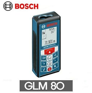 bosch Glm 80 Laser Distance And Angle Measure Meter Equipment Industria