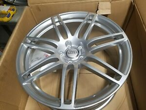 20 Audi Oem Forged Speedline Wheels Rims Brushed Aluminum A6 A7 A8 S6 S7 S8 Rs