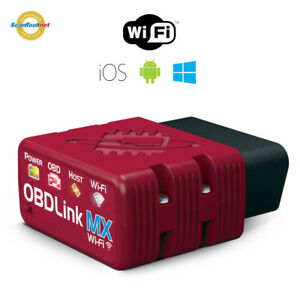 Scantool 426801 Obdlink Mx Wi fi Obd ii Scan Tool Interface For Ios android