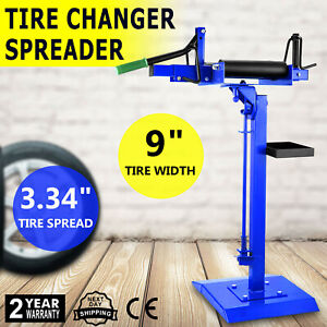 Manual Car Truck Tire Changer Spreader Repair Tool Heavy Duty Adjustable Great