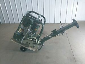 Diesel Powered Weber Reversible Plate Compactor Soil Dirt