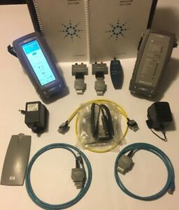Agilent Wirescope 350 Cat6 Mm Digital Cable Certifier Analyzer New Batteries Wow