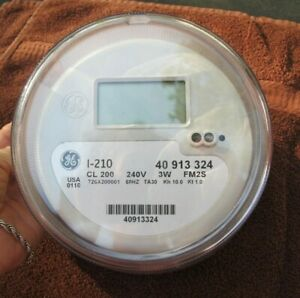 Ge Digital Electric Meter I 210 New 40 913 324 24ov 3w Fm2s