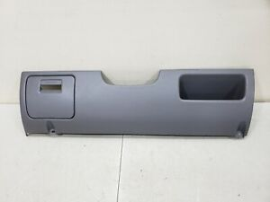 1992 1996 Ford F150 F250 F350 Lower Dash Steering Column Cover Knee Bolster Grey