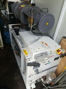 Iqdp80 Edwards Dry Vacuum Pump Qmb25cf Booster Used Tested Working