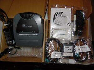 Zebra P4t Mobile Pos Receipt Label Barcode Thermal Transfer Printer Usb ge3966