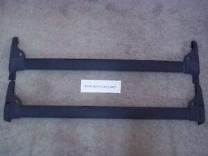 2002 2004 Ford Expedition Pair Roof Rack Cross Bars Oem Factory