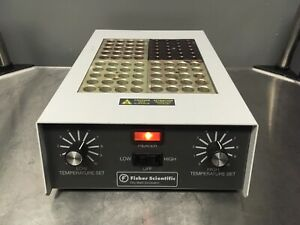 Fisher Scientific 11 718 6 Dry Bath Incubator 4 Block Micro Tube Heater Tested