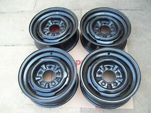 4 40 s 50 s 15x5 5 Ford Mercury Kelsey Hayes Steel Wheels For Hubcaps