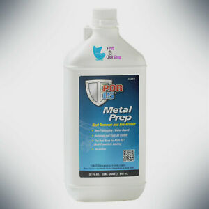 Rust Remover Pre Primer Metal Prep Any Metal Surface Insure Por 15 40204 1 Quart