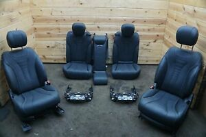 Set Front Rear Left Right Seat Black 801a Oem Mercedes S450 S560 W222 2014 20