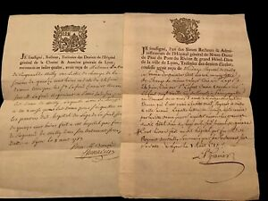 Lot Of Two Documents 1700s