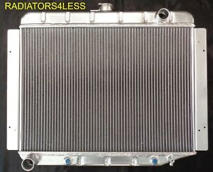 3 Row Aluminum Radiator 68 69 70 71 72 73 74 Dodge Mopar Cars 26 Wide Core