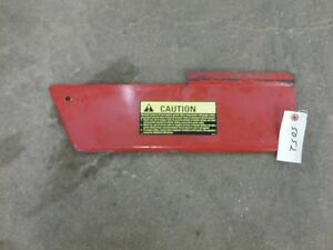 International Harvester 1066 Tractor Right Panel Above Battery Tag 5052